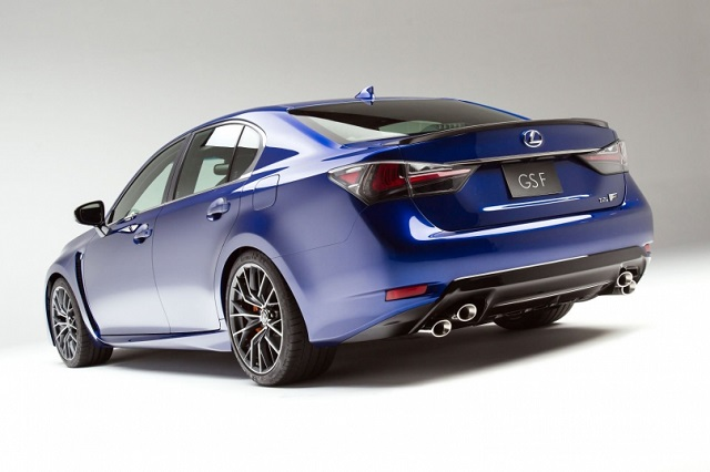 2018 Lexus GS F rear