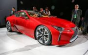 2018 Lexus LC 500 Coupe side