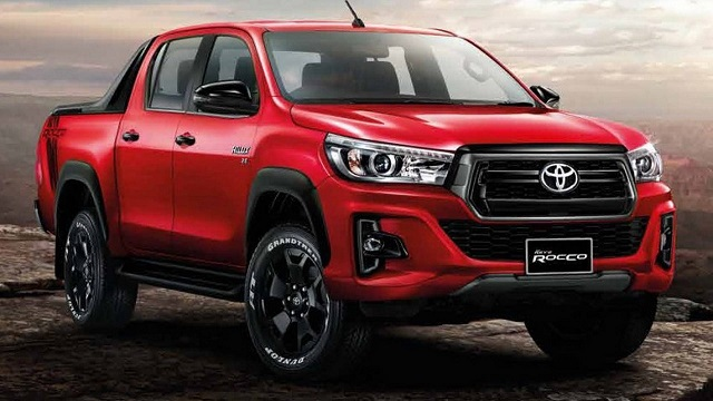 2018 Toyota Hilux front