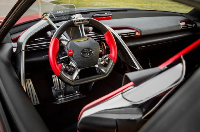 2018 Toyota FT-1 interior