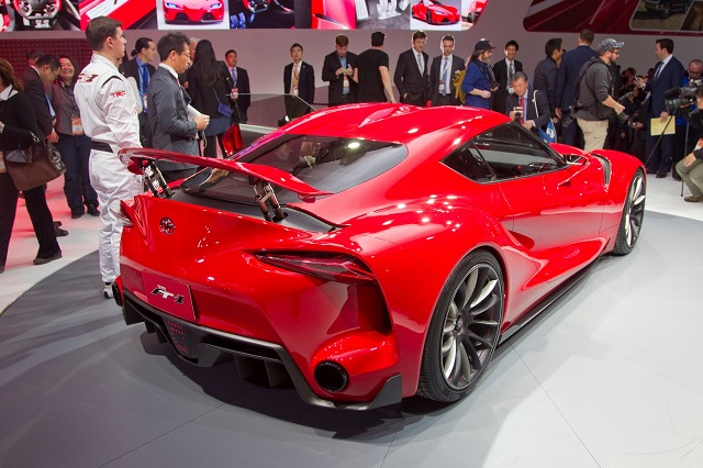 2018 Toyota FT-1 rear