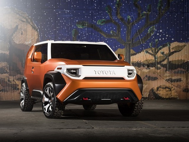 2018 Toyota FT-4X Concept front
