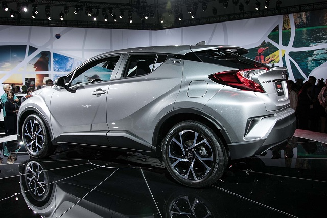2018 Toyota C-HR rear