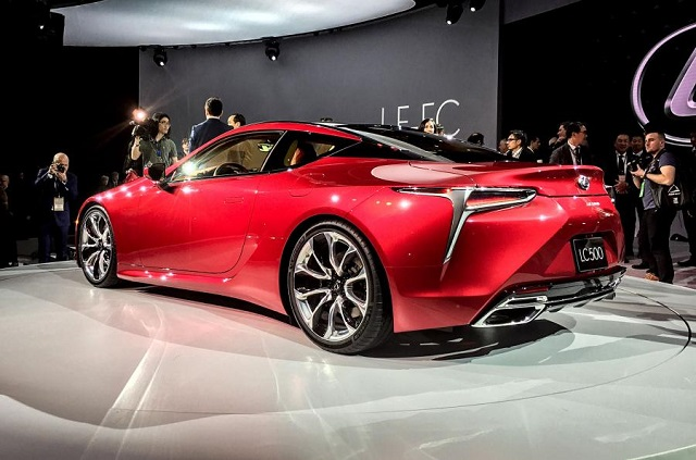 2018 Lexus LC 500 Coupe rear