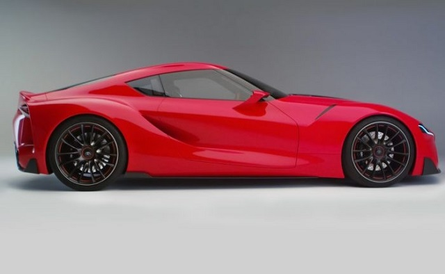 2018 Toyota Supra side