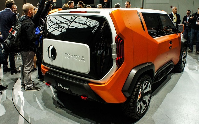 2018 Toyota FT-4X Concept rear