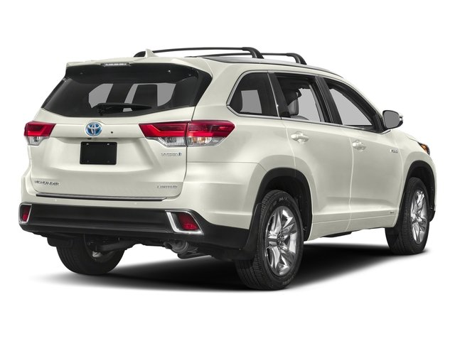 2019 Toyota Highlander Hybrid rear