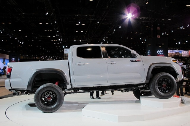 2019 Toyota Tacoma Diesel side