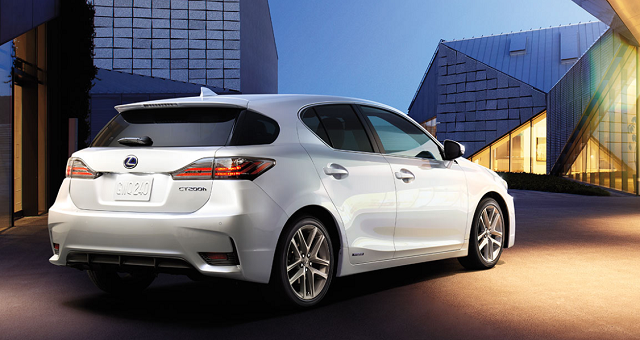 2019 Lexus CT Hybrid rear
