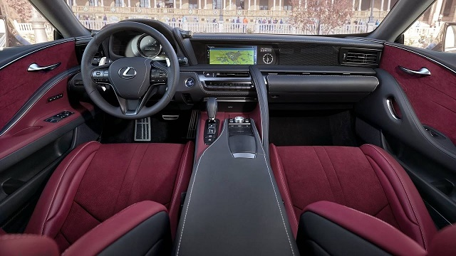 2020 Lexus LC 500 Coupe cabin