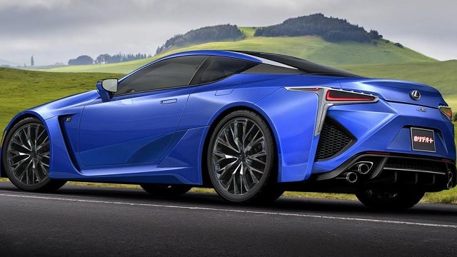 2020 Lexus LC 500 Coupe rear
