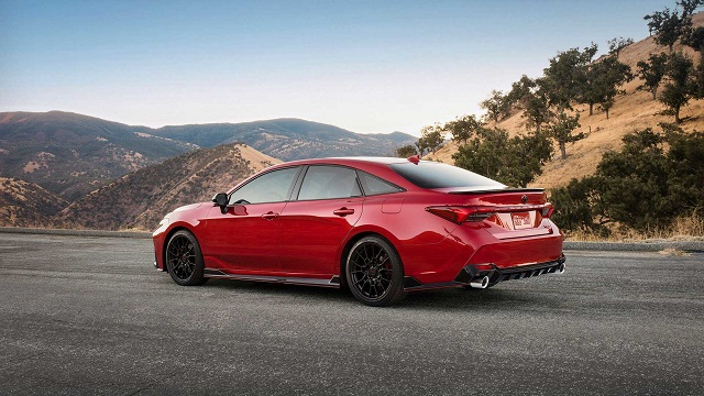 2020 Toyota Avalon TRD release date