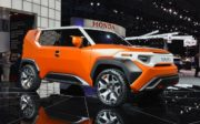 2020 Toyota FJ Cruiser inspired by the FT-4X concept