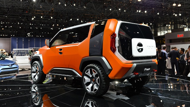 2020 Toyota FJ Cruiser inspired by the FT-4X concept rear