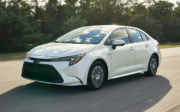 2020 Toyota Corolla Hybrid front