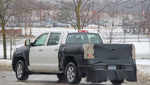 2020 Toyota Tundra Hybrid Spy Photo