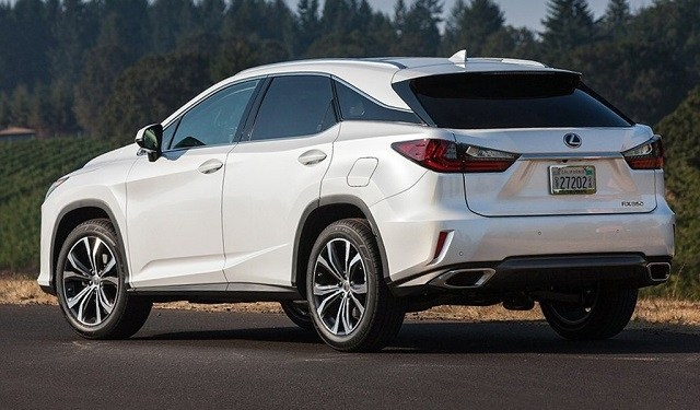 2021 Lexus RX350 rear view