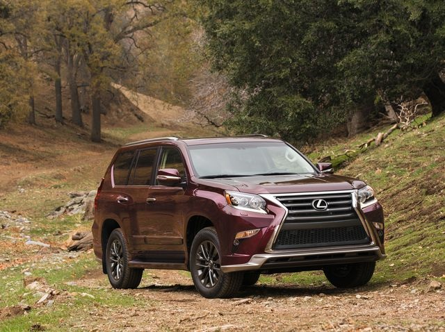 2021 Lexus GX 460 changes